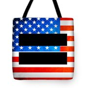 The Goal - Equality Art By Sharon Cummings Tote Bag by Sharon Cummings