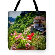 The Godfather Villages Of Sicily Tote Bag by David Smith