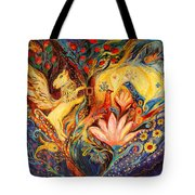 The Golden Griffin Tote Bag by Elena Kotliarker