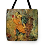 The Good Samaritan After Delacroix 1890 Tote Bag by Vincent Van Gogh