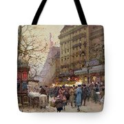 The Great Boulevards Tote Bag by Eugene Galien-Laloue