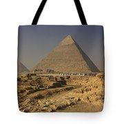 The Great Pyramids Of Giza Egypt  Tote Bag by Ivan Pendjakov
