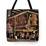 The Green Tortoise Hostel in Seattle Tote Bag by David Patterson
