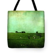 The Green Yonder Tote Bag by Trish Mistric