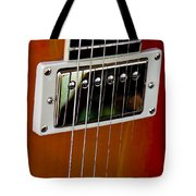 The Guitar Tote Bag by David Patterson