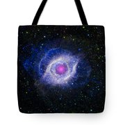 The Helix Nebula Tote Bag by Adam Romanowicz