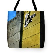 The Hollywood Heights Hotel Tote Bag by Janice Rae Pariza
