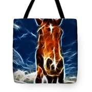 The Horse Tote Bag by Paul Ward