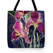 The Iris Melody Tote Bag by Sherry Harradence