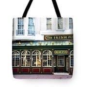 The Irish Pub - Philadelphia Tote Bag by Bill Cannon