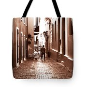 The Jazz Man Tote Bag by John Rizzuto