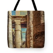 The Karnak Temple Tote Bag by Erik Brede