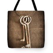 The Keys Tote Bag by Edward Fielding