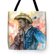The King And His Queen Tote Bag by Kim Whitton