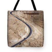 The King's Highway At Wadi Mujib Jordan Tote Bag by Robert Preston
