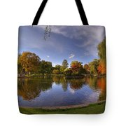 The Lagoon - Boston Public Garden Tote Bag by Joann Vitali