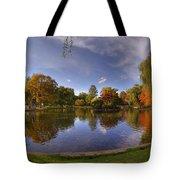 The Lagoon - Boston Public Garden Tote Bag by Joann Vitali