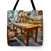 The Lamp and the Chair Tote Bag by Paul Ward