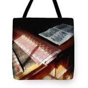 The Latest Fashion Tote Bag by Susan Savad