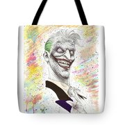 The Laughing Man Tote Bag by Wave