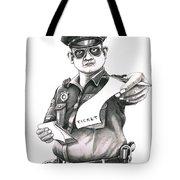 The Law Tote Bag by Murphy Elliott