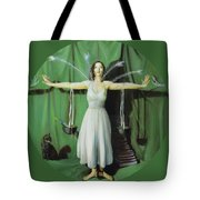 The Leaver Tote Bag by Shelley Irish