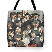 The Lecture, Illustration From Hogarth Tote Bag by William Hogarth