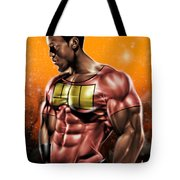 The Legend of Will Power Tote Bag by Pete Tapang