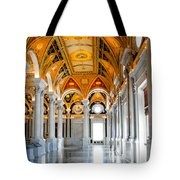 The Library Tote Bag by Greg Fortier