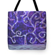 The Life Stream Tote Bag by Angelina Vick