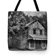 The Local Haunted House Tote Bag by Heather Applegate