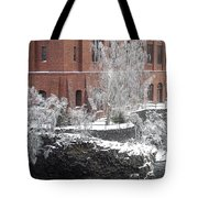 The Lone Sentinel - Spokane Washington Tote Bag by Daniel Hagerman