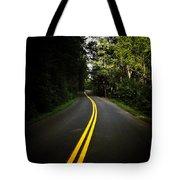 The Long And Winding Road Tote Bag by Natasha Marco