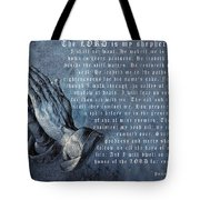 The Lord Is My Shepherd Tote Bag by Albrecht Durer