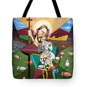 The Lord Is My Shepherd Tote Bag by Anthony Falbo