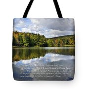 The Lord's Prayer Tote Bag by Christina Rollo