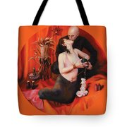 The Lovers Tote Bag by Shelley Irish