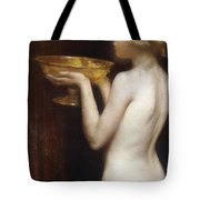 The Loving Cup Tote Bag by Janet Agnes Cumbrae-Stewart
