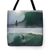 The Maestro Of Middle Peak Tote Bag by Bruce Frye