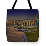 The Mahaffey Theater Tote Bag by Marvin Spates