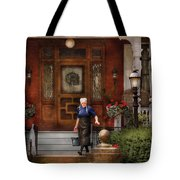 The Maid Tote Bag by Mike Savad