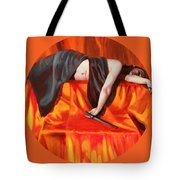 The Martyr Tote Bag by Shelley Irish