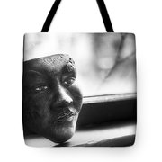 The Mask Tote Bag by Scott Norris