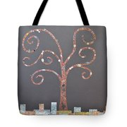 The Menoa Tree Tote Bag by Angelina Vick