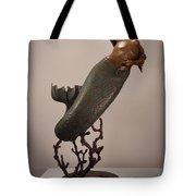 The Mermaid Tote Bag by Lisbeth Sabol