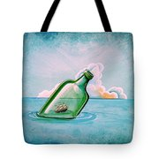The Messenger Tote Bag by Cindy Thornton