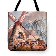 The Millyard, From Ten Views Tote Bag by William Clark