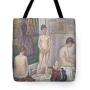 The Models Tote Bag by Georges Pierre Seurat