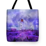 The Moon Knows Where to Rise Tote Bag by Betsy C  Knapp