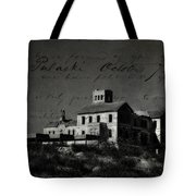 The Most Haunted House In Spain. Casa Encantada. Welcome To The Hell Tote Bag by Jenny Rainbow